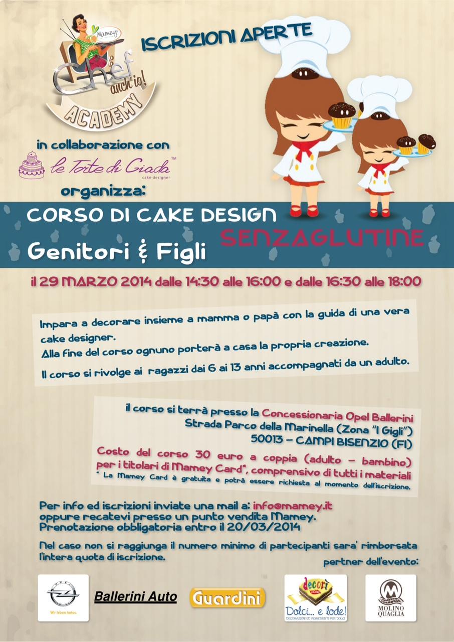 Corsi Di Cake Design Per Bambini Roma : Corsi di cake design senza glutine a Firenze con Le Torte ...