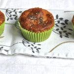 Muffin salati senza glutine carciofi e caprino