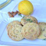 Biscotti frolla sablé timo e mandorle senza glutine