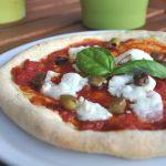 Pizza senza glutine con capricciolo