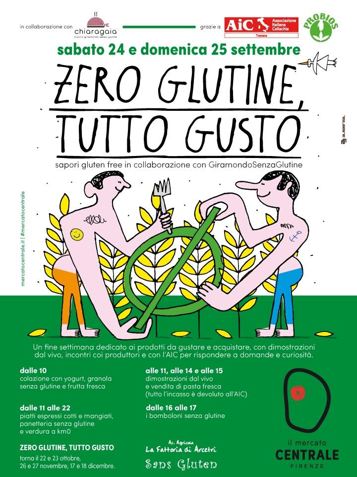 zero glutine tutto gusto temporary shop al mercato centrale di firenze