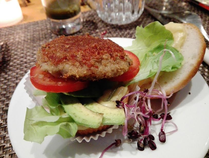 ristorante-senza-glutine-firenze-quinoa-hamburger-veg-gingerglutenfree