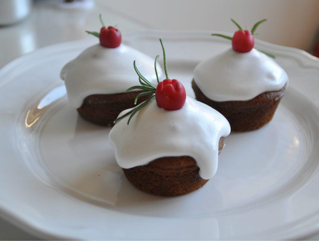 muffin senza glutine di natale speziati