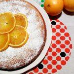 Torta all'arancia con farine naturali senza glutine