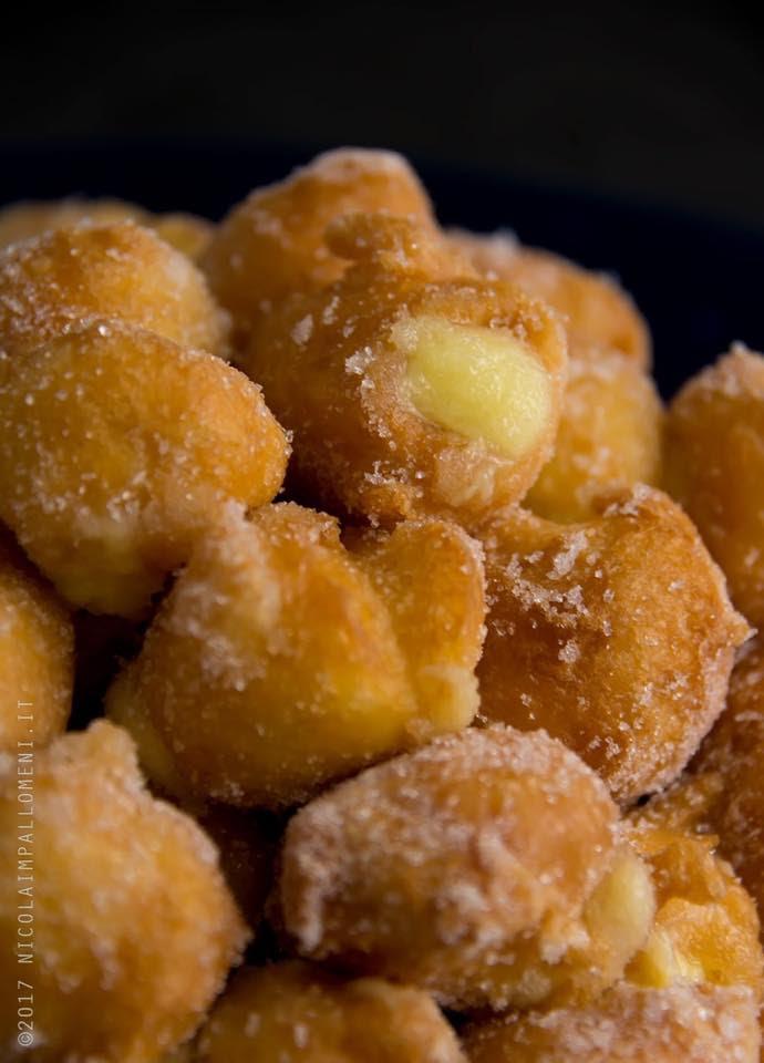 bignè fritti senza glutine di maga merletta
