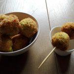 Polpette di miglio senza glutine con zucchine e porri