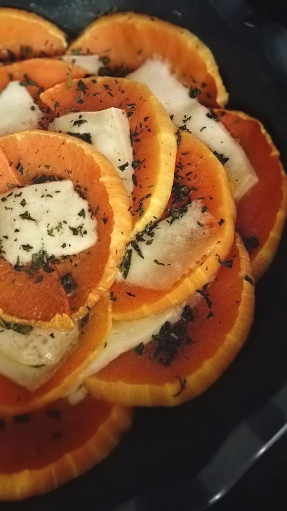 zucca al forno con pecorino ed erbe aromatiche