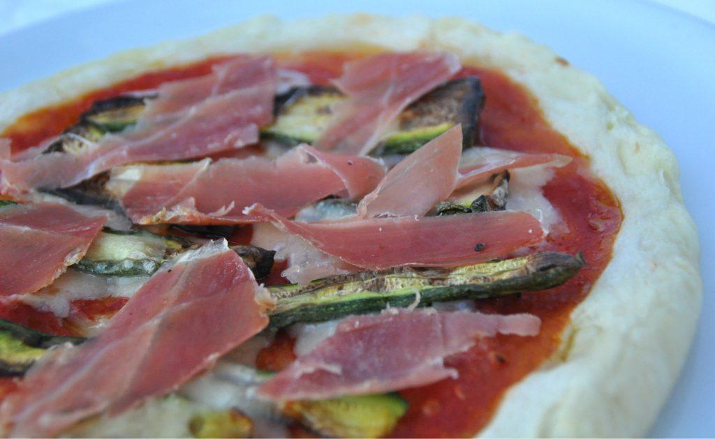 Pizza senza glutine toscana per il contest de la confraternita della pizza