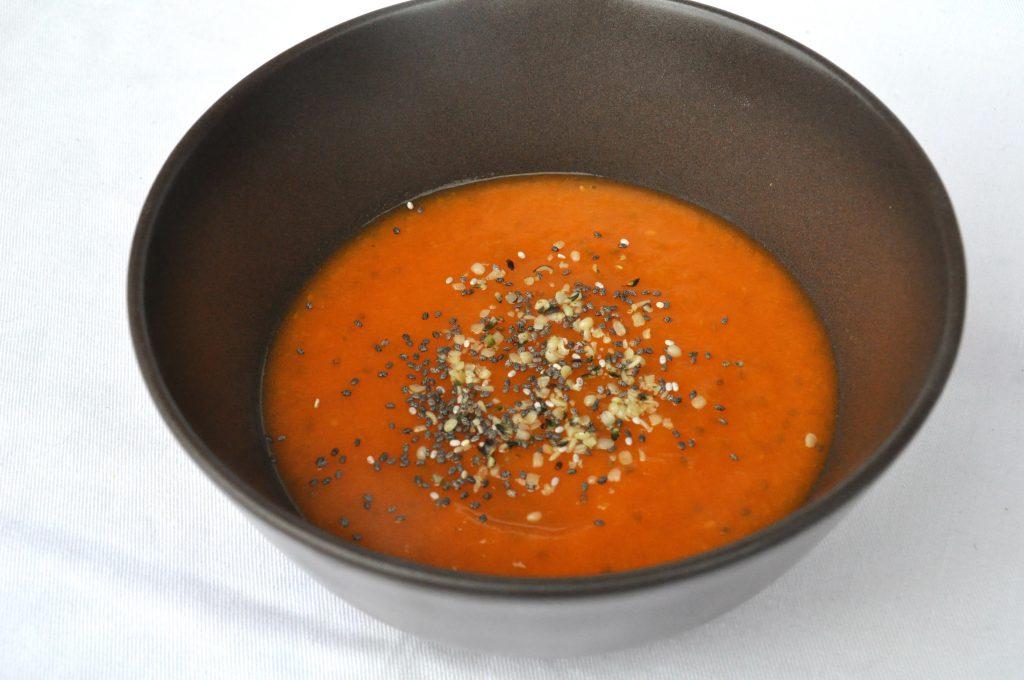 zuppa di zucca senza glutine