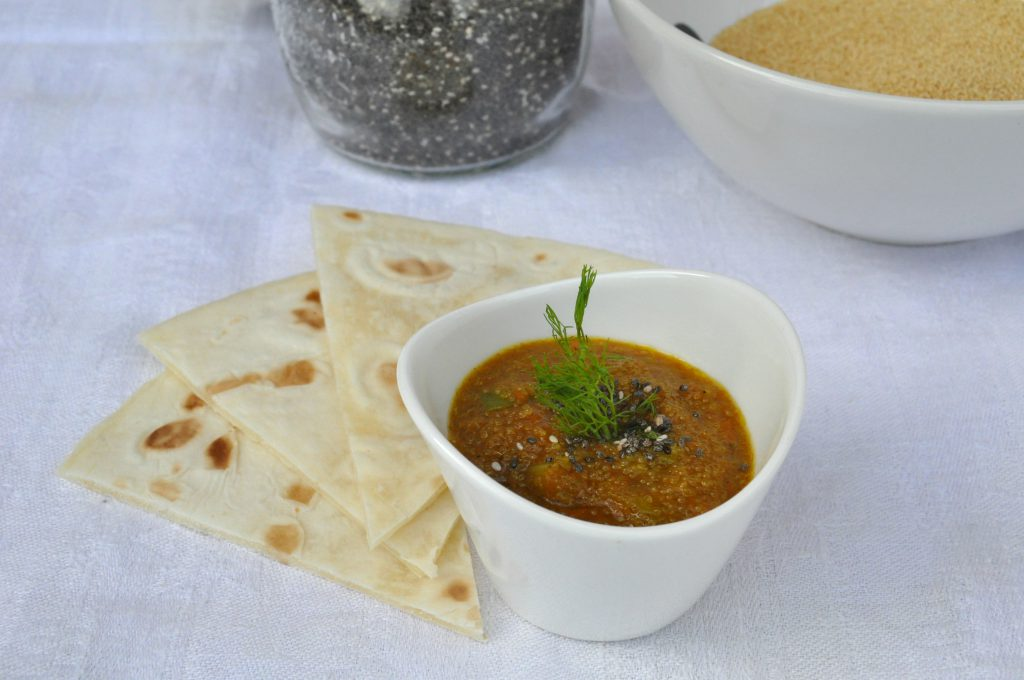 zuppa di amaranto senza glutine