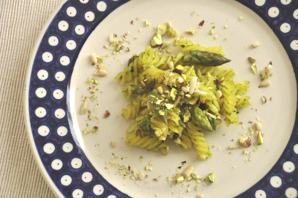 pasta senza glutine con asparagi
