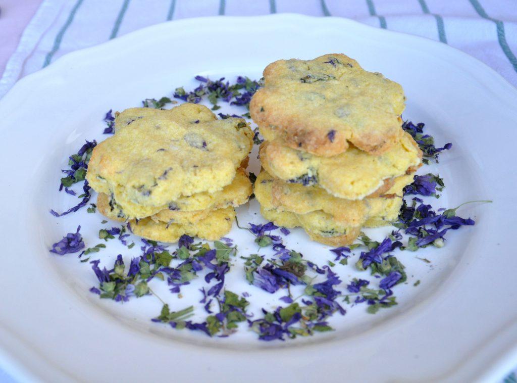 biscotti senza glutine ai fiori