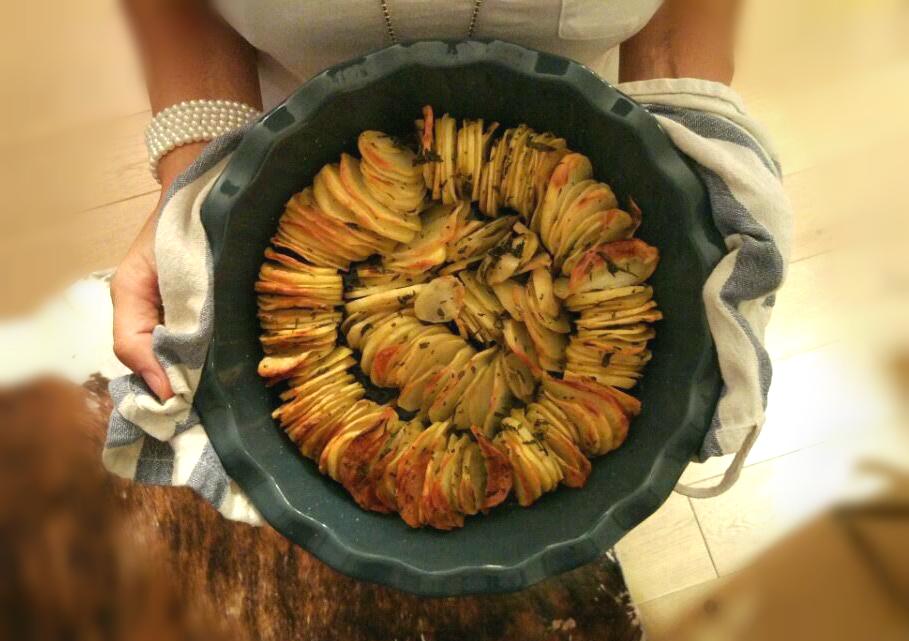 patate sottili senza glutine in forno
