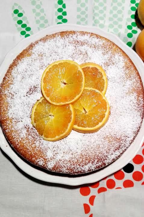 torta all'arancia con farine naturali