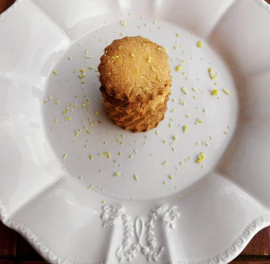 biscotti senza glutine con limone e mandorle