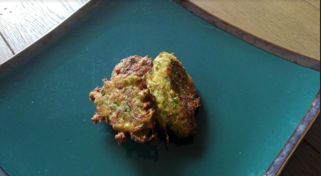 frittelle di zucchine senza glutine