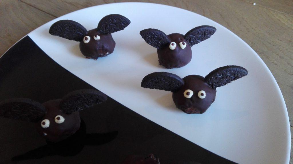 dolci di halloween pipistrelli senza glutine