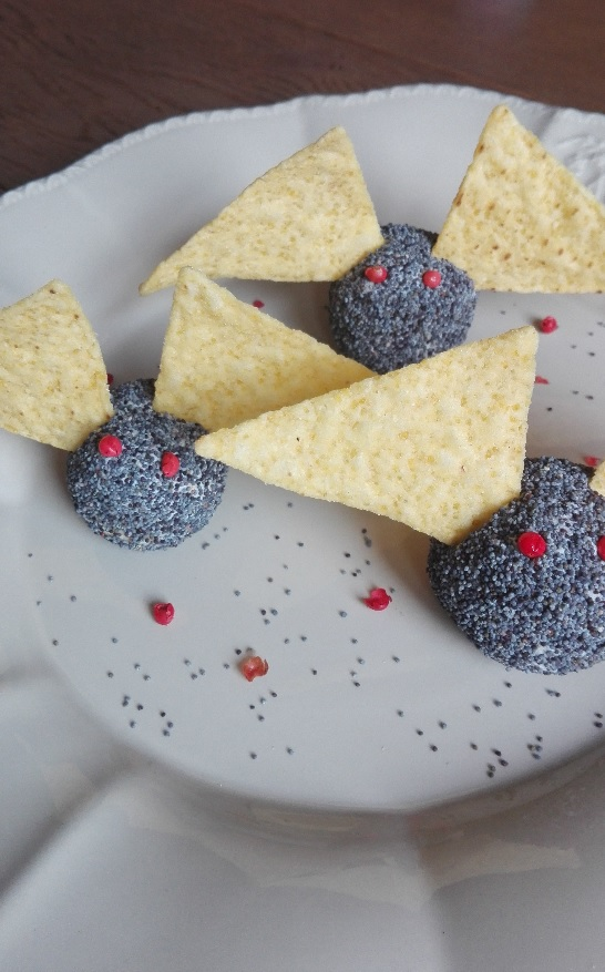 pipistrelli salati ricette di halloween
